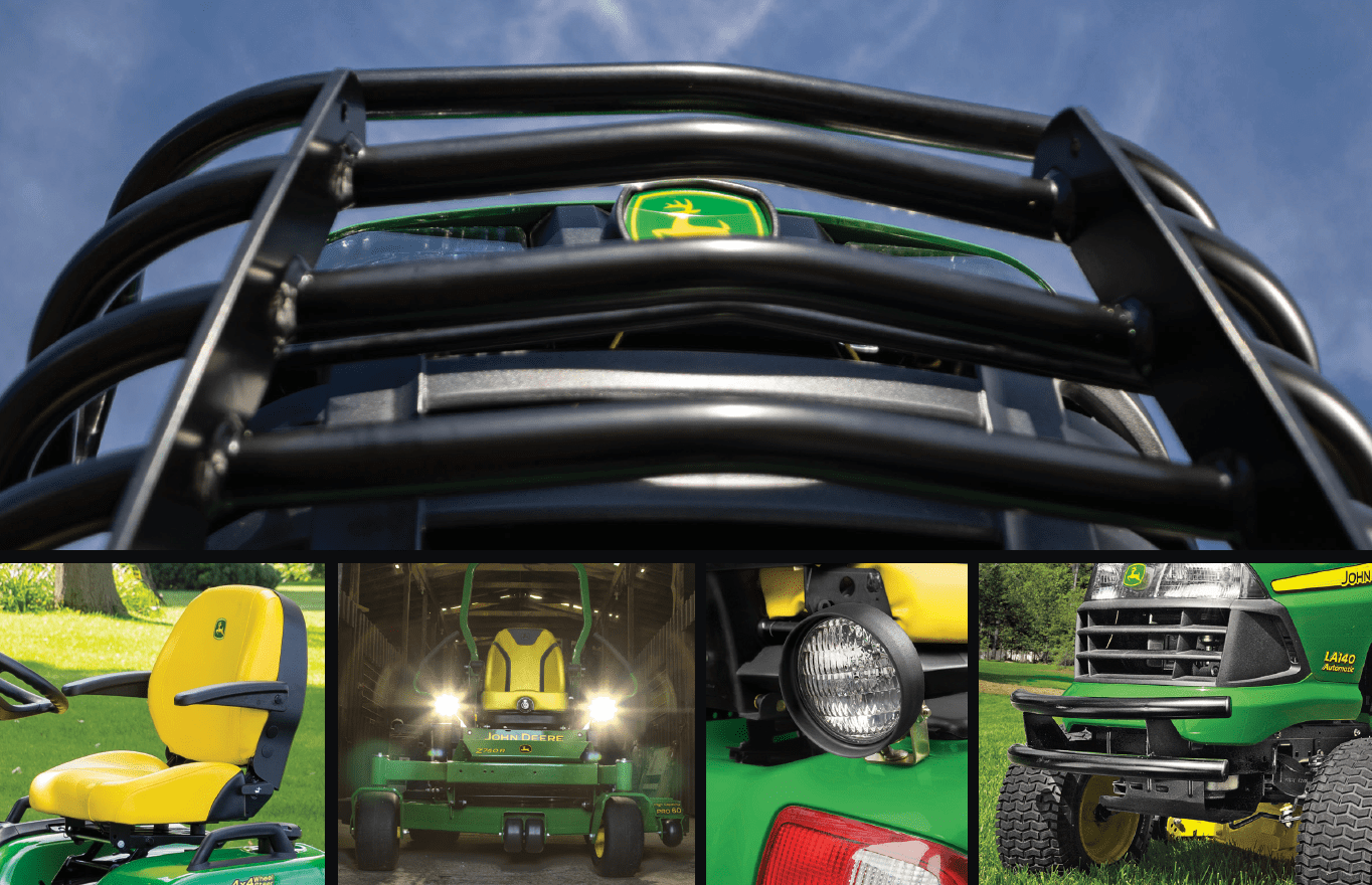 15% OFF Select Riding Lawn Equipment Attachments